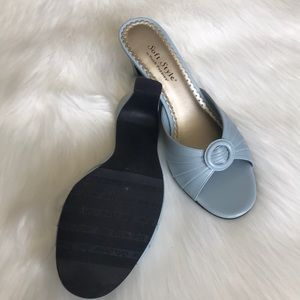 Hush Puppies Shoes - Hush Puppies soft style slides sandals blue 8.5